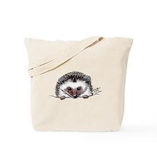 Pocket Hedgehog Tote Bag