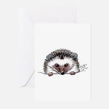 Pocket Hedgehog Greeting Cards (Pk of 10)