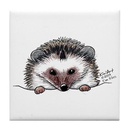 Pocket Hedgehog Tile Coaster