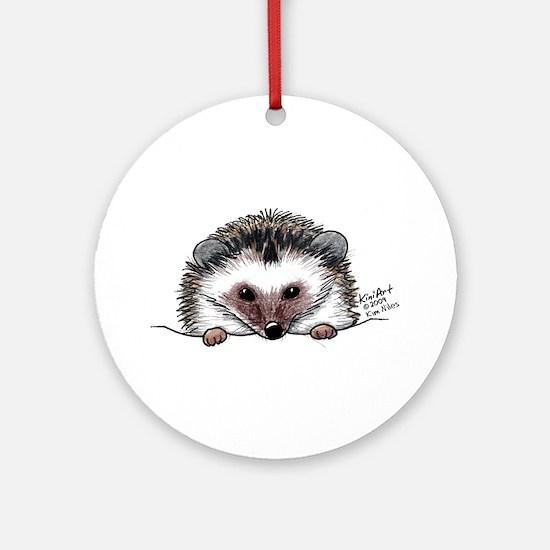 Pocket Hedgehog Ornament (Round)