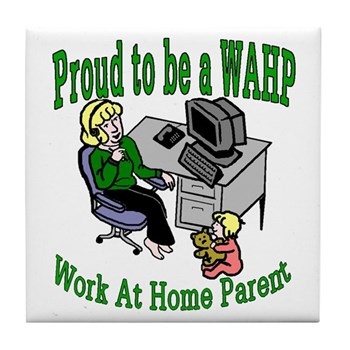 Proud to be a WAHP Tile Coaster