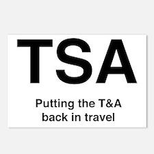 TSA Postcards (Package of 8)