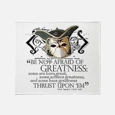 Twelfth Night 2 Throw Blanket
