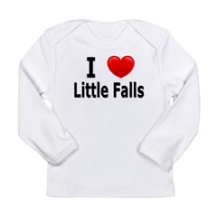 I Love Little Falls Long Sleeve Infant T-Shirt