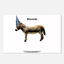 your basic dumbASS Postcards (Package of 8)