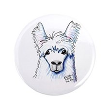 "KiniArt Llama 3.5"" Button (100 pack)"
