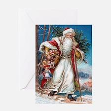 Victorian St. Nicholas Greeting Card