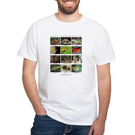 Wildlife of Madagascar White T-Shirt
