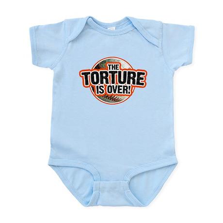SF Giants Torture Is Over San Infant Bodysuit