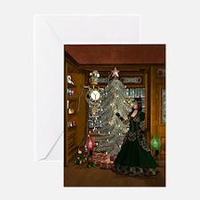 Steampunk Christmas Greeting Card