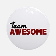 Team Awesome Ornament (Round)