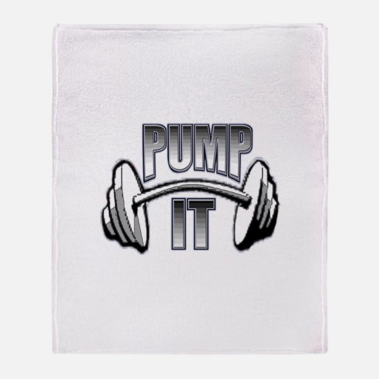 Pump it Throw Blanket
