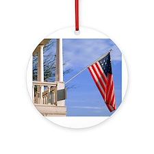 American Pride Ornament (Round)