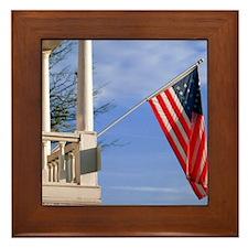 American Pride Framed Tile
