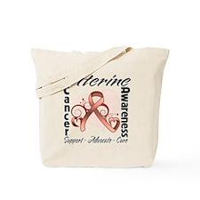 Uterine Cancer Awareness Tote Bag