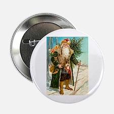 "Victorian St. Nicholas 2.25"" Button"
