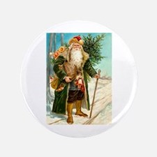 "Victorian St. Nicholas 3.5"" Button"