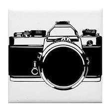 SLR Camera Tile Coaster