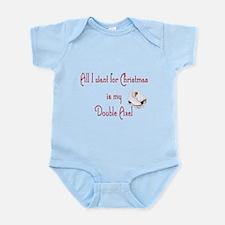 Double Axel for xmas Infant Bodysuit