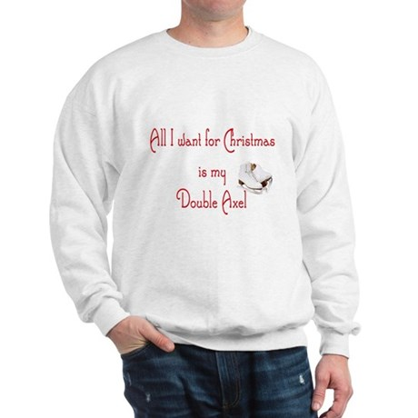 Double Axel for xmas Sweatshirt