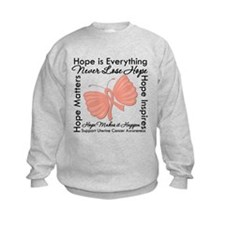 Hope - Uterine Cancer Sweatshirt