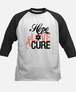 Uterine Cancer HopeLoveCure Tee