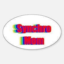 Synchro Mom Sticker (Oval)