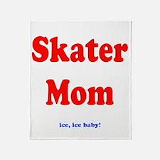 Skater Mom Throw Blanket