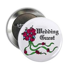 "Wedding guests 2.25"" Button (100 pack)"