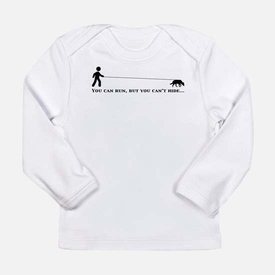 Cute Search dog Long Sleeve Infant T-Shirt