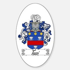 Tazzi Coat of Arms Oval Decal