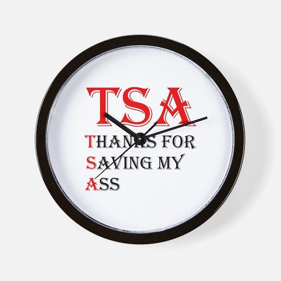 TSA Wall Clock