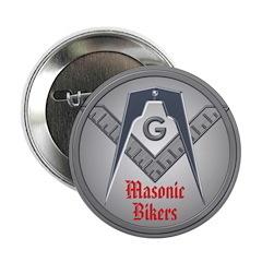 Masonic Bikers Button. 2.25