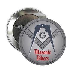 Masonic Bikers Button.