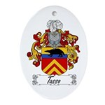 Tasso Family Crest Oval Ornament
