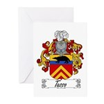 Tasso Family Crest Greeting Cards (Pk of 10)