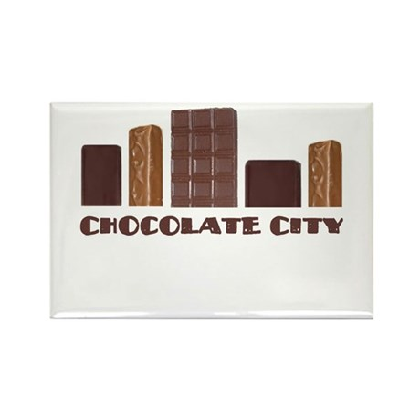 Chocolate City Rectangle Magnet