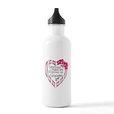 Angel Scrapbooker Water Bottle