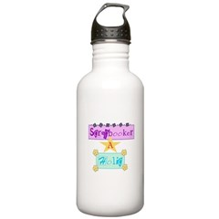Scrapbooker-a-Holic Water Bottle