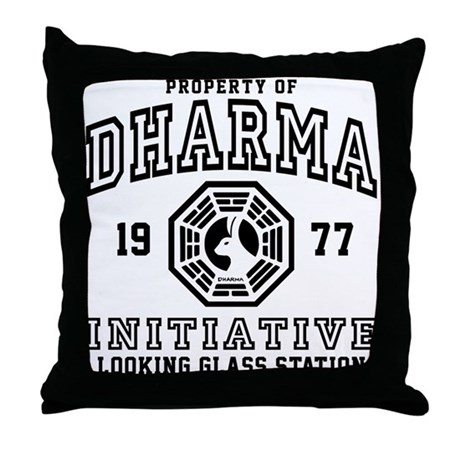 Dharma Looking Glass Throw Pillow