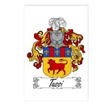 Tassi Family Crest Postcards (Package of 8)