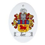 Tassi Family Crest Oval Ornament