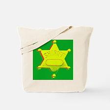 Rasta Sheriff Tote Bag