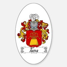 Tasca Coat of Arms Oval Decal