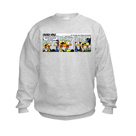 0213 - Concentrate and focus Kids Sweatshirt