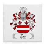 Tanzi Coat of Arms Tile Coaster
