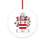 Tanzi Coat of Arms Ornament (Round)