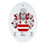 Tanzi Coat of Arms Oval Ornament