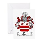 Tanzi Coat of Arms Greeting Cards (Pk of 10)