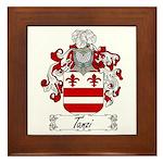 Tanzi Coat of Arms Framed Tile